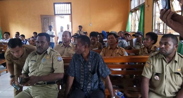 Peserta Musrenbang Tingkat Distrik Nimboran