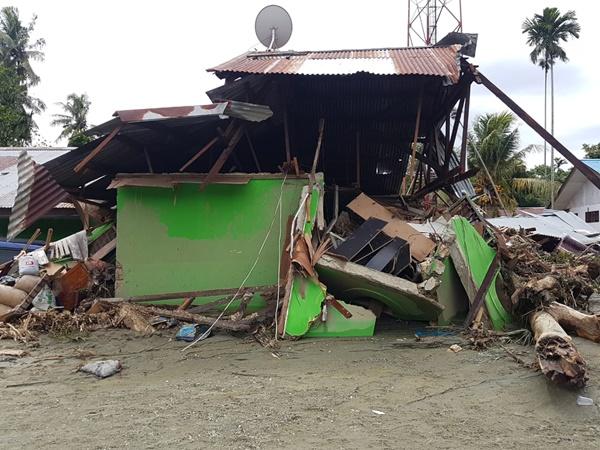 Banjir Bandang - Kondisi Rumah Warga Yang Terkena Dampak Banjir