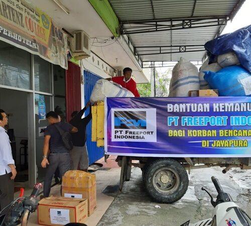 Bantuan Bencana dari PTFI