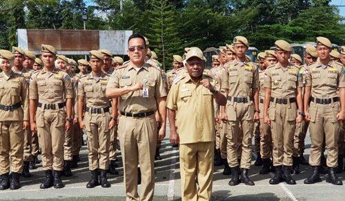 Upacara Penyerahan Praja IPD-PKL Pemkab Jpr - April 2019
