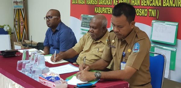 Masa Transisi Bencana Banjir Bandang Kabupaten Jayapura 2019