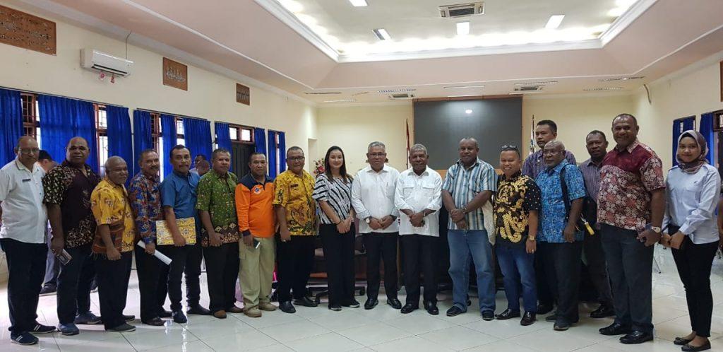 Tim KSP dan Pemkab Jayapura bahas infrastruktur PON