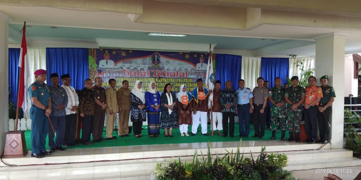 pelepasan Jama'ah Calon Haji Kabupaten Jayapura