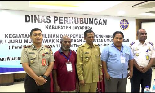 Wakil Bupati Jayapura, Dinas Perhubungan