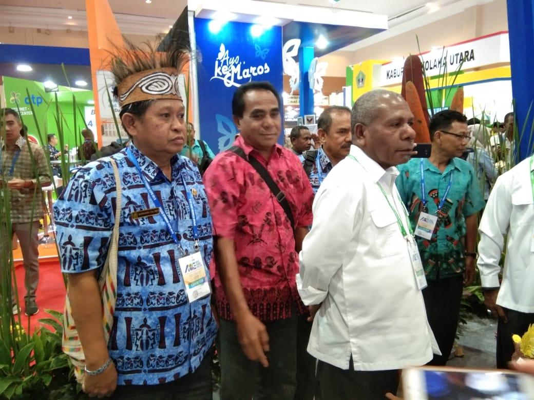 Bupati Jayapura Apkasi Otonomi Expo 2019